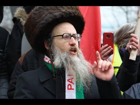 Rabbi Dovid Feldman NKI Speaking at Toronto Hands Off Jerusalem Al-Quds Rally Dec.09...